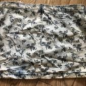 Легкая джинсовая юбка разм. M-L
