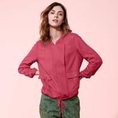 ☘ Куртка-ветровка ягодного цвета в стиле casual от Tchibo(Германия), размеры наши: 46-48 (40 евро)