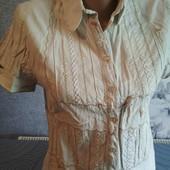 Льняная рубаха, ручная вышивка!