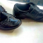 нарядные туфли с супинатором, кожа, на мальчика, р. 28