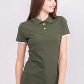 Женская футболка Polo Ocean размер М,модель фото 2!