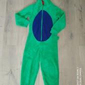 Плюшевый слип пижама 7-8лет замеры на фото