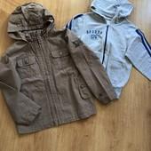 Курточка- ветровка и спортивная кофточка