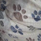 Мягкий плед из микрофибры евро размер 200х220 ,,Снежок,,