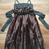 Нарядное красивое платье на девочку, р.+-146
