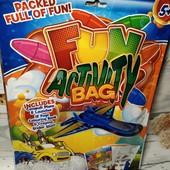 Новый набор для развлечений ребенку 5+ Action bag