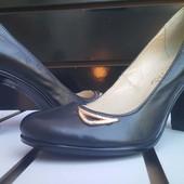 Кожаные женские туфли fiore gold