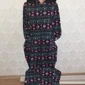 Слип пижама домашний комбинезон размер 46 -48 замеры на фото