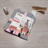 Германия!!! Крутой коттоновый наборчик с Минни! Указано как пижама, но можно и так носить! 110/116!