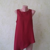 Шикарная блуза цвета марсала