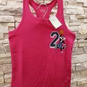 LooneyTunes спортивная майка девочке 134-140 см в лоте розовая