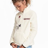 H&M мягкий пушистый свитшот на рост 158/164