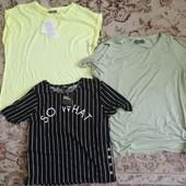 Лот футболок с дефектами jennyfer и yessica размер s/m