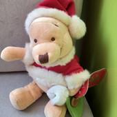 Фирменный новый с этикеткой новогодний медвежонок р.25см