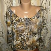 Легкая женская блуза femme collection