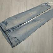 Zara! фирменные стильные джинсы р,48 в прекрасном сост