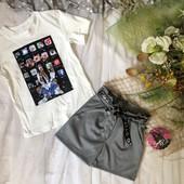 Шикарний костюм: шорти і футболка з крутим логотипом.Один на вибір.