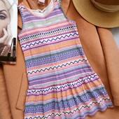 H&m красивое платье в геометрический принт