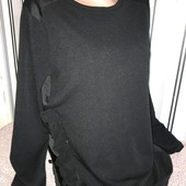 Легка комбінована кофтинка Zara,розмір8(пог49)