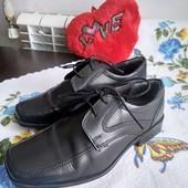 Туфли ,верх кожа, в идеальном. Уп-10%