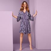 ☘ Нежный цветочный халат в стиле кимоно, Tchibo(Германия), размер наш: 50-52 (44/46 евро)
