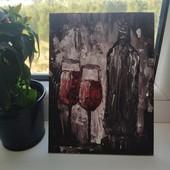 """Кухонный натюрморт, """"двое с вином"""""""