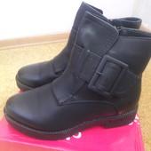 Зимние ботиночки- состояние новых!!! 38- стелька 24,5 см