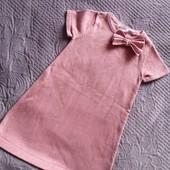 Платье Н&М одето 2 раза в состоянии нового на 3-5.5 лет