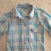 Рубашка для девочки на рост 128