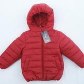 Легкая,модная, стеганная курточка .Размеры 98Ю104,110,116,122,128