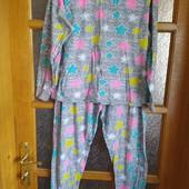Стоп! ❤В отличном состоянии яркая со звездами пижамка-двойка,костюм для сна/отдыха❤Собирайте лоты