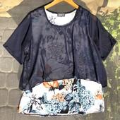 Красивая 2х слойная блузочка