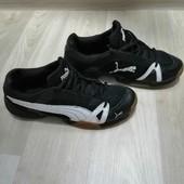 Кожаные кроссовки - Puma :100%орыгинал :37-38 розмер!