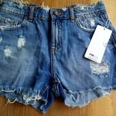 FBsister шикарные джинсовые шорты размер xxs -s ( подросток ) и на худенькую маму