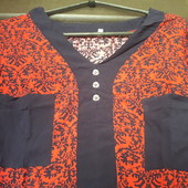 Коттоновая рубашечка 44 р