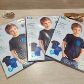 Распродажа! Германия! 1 упаковка из 2 суперовых коттоновых футболок с динозаврами! Размер на выбор!