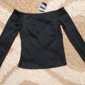 Стильная фактурная блуза Next, размер 10