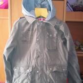 Куртка, ветровка, штурмовка. р. 10 лет 140 см, Here+there cool by C&A. состояние отличное