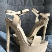 Шикарные туфли,шпилька 16см!!!