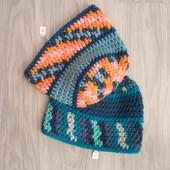 Фирменные новые красивые шапочки- в лоте одна на выбор р.54-57