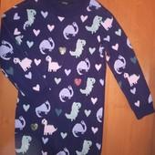 George. Вязаное платье на 5-6лет, на рост 110-116