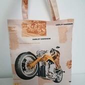 Harley Стильная Практичная сумка! Для прогулок, для покупок!