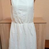 Сток Ексклюзив! Білосніжна сукня з перфорацією Індія