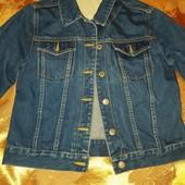 Джинсовая куртка пиджак! 100 % котон!! В идеале!!
