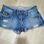 Фирминние джинсовые шорты :XS-S!!!