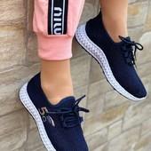 Стильные легкие женские кроссовки сеточка! Размер 39