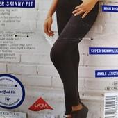 Классные женские джинсы super skinny fit c высокой посадкой Esmara Германия размер евро 42