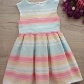 Красивое платье для девочки 3-5лет.
