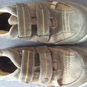 Отличные итальянские замшевые туфли в школу 38 р