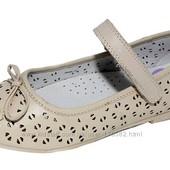 Уникальное предложение!!! стелька кожа,супинатор ! туфли для девочек тм Flamingo!